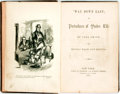 Books:Literature Pre-1900, Seba Smith. 'Way Down East; or, Portraitures of Yankee Life.New York: Derby & Jackson, 1856. Publisher's brown embo...