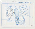 Animation Art:Production Drawing, Milton the Monster Production Drawing (Hal Seegar, 1965)....(Total: 3 Items)