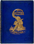 Books:Literature Pre-1900, Bon Gaultier, editor. The Book of Ballads. Illustrated byDoyle, Leech and Crowquill. Edinburgh and London: William ...