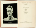Books:Biography & Memoir, Robert Graves. Lawrence and the Arabs. London: JonathanCape, [1927]. First edition. Nondescript brown cloth with gi...