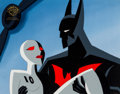 Animation Art:Production Cel, Batman Beyond Batman and Ten Production Cel (WarnerBrothers, 1999)....