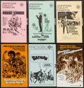 Movie Posters:Action, Hellfighters & Others Lot (Universal, 1969). Pressbooks (45) (Multiple Pages, Various Sizes), Photos (15), Mini Lobby Cards ... (Total: 75 Items)