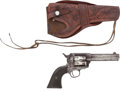 Handguns:Single Action Revolver, Thomas J. Goree: Single Action Colt Belonging to this Former Confederate Officer and Head of the Texas Penitentiary System. ... (Total: 2 Items)