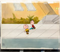 Animation Art:Production Cel, Someday You'll Find Her, Charlie Brown Production Cel Set-up(Bill Melendez, 1981).... (Total: 5 Original Art)
