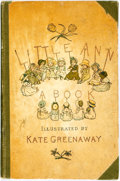 Books:Children's Books, [Kate Greenaway, illustrator]. Jane and Ann Taylor. Little Annand Other Poems. London: Frederick Warne, [n.d., ca. ...