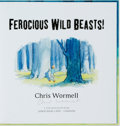 Books:Children's Books, Chris Wormell. SIGNED. Ferocious Wild Beasts. London:Jonathan Cape, 2009. First edition. Signed by the author. ...