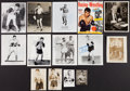 Boxing Collectibles:Autographs, 1930's-60's Boxing Signed Photographs Lot of 14....