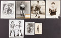 Boxing Collectibles:Autographs, 1930's-60's Vintage Boxing Signed Photographs Lot of 7....