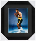 Boxing Collectibles:Autographs, Joe Frazier Signed Photograph....