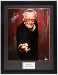 Miscellaneous Collectibles:General, Stan Lee Signed Oversized Photograph....