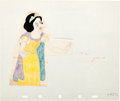 Animation Art:Production Drawing, Snow White and the Seven Dwarfs Color Model Drawing (WaltDisney, 1937)....