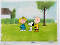 Animation Art:Production Cel, The Charlie Brown and Snoopy Show Charlie, Sally, and SnoopyProduction Cel Setup (Bill Melendez, 1982).... (Total: 5 MoviePosters)