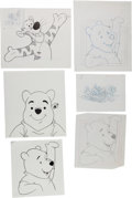 Animation Art:Production Drawing, Winnie the Pooh and Friends Product Illustration Animation ArtGroup (Walt Disney, c. 1980s-90s).... (Total: 10 Original Art)