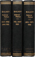 Pulps:Science Fiction, Galaxy Bound Volumes (Universal Publishing, 1950-51).... (Total: 3Items)