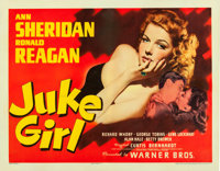 "Juke Girl (Warner Brothers, 1942). Half Sheet (22"" X 28"")"