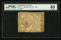 Colonial Notes:Continental Congress Issues, Continental Currency September 26, 1778 $40 PMG Extremely Fine 40.....