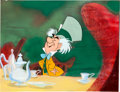 Animation Art:Production Drawing, Alice in Wonderland Mad Hatter Style Guide PaintingAnimation Art (Walt Disney, c. 1950s/60s)....