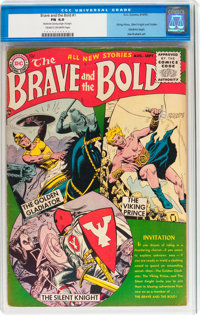 The Brave and the Bold #1 (DC, 1955) CGC FN 6.0 Cream to off-white pages