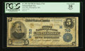National Bank Notes:Minnesota, Minneapolis, MN - $5 1902 Plain Back Fr. 598 The First NB Ch. # (M)710. ...