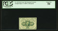 Fractional Currency:First Issue, Fr. 1242 10¢ First Issue PCGS About New 50.. ...