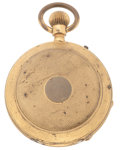 Timepieces:Pocket (post 1900), Railroad Timekeeper Hunter's Case Pocket Watch For Parts Or Repair....