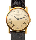 Timepieces:Wristwatch, Lady's Vacheron Constantin 18k Gold Wristwatch. ...