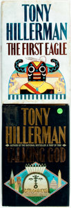 Books:Mystery & Detective Fiction, Tony Hillerman. Talking God [and:] The First Eagle.Various publishers and dates. First editions. Publisher'... (Total:2 Items)