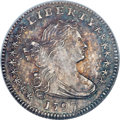 Early Half Dimes, 1797 H10C 16 Stars MS65 NGC. V-4, LM-2, R.4....