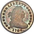 Early Dimes, 1796 10C MS67 PCGS. CAC. JR-1, R.3....