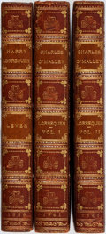 Books:Literature Pre-1900, [Hyman Zucker Binding]. Harry Lorrequer. Charles O'Malley, theIrish Dragoon. [and:] The Confessions of Harry Lo... (Total:3 Items)