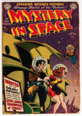 Golden Age (1938-1955):Science Fiction, Mystery in Space #2 (DC, 1951) Condition: Apparent GD....