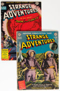Golden Age (1938-1955):Science Fiction, Strange Adventures #1 and 2 Group (DC, 1950).... (Total: 2 ComicBooks)
