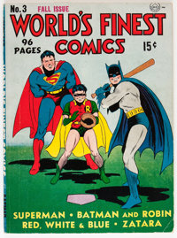 World's Finest Comics #3 (DC, 1941) Condition: VG/FN