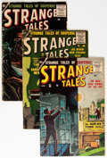 Golden Age (1938-1955):Science Fiction, Strange Tales Group (Atlas, 1955-59) Condition: GD/VG.... (Total: 9Comic Books)