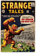 Silver Age (1956-1969):Horror, Strange Tales #98 (Marvel, 1962) Condition: FN....