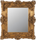 Decorative Arts, French:Other , A FRENCH CARVED GILT WOOD MIRROR, 19th century. 38 inches high x 33inches width (96.5 x 83.8 cm). ...