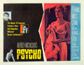 "Movie Posters:Hitchcock, Psycho (Paramount, 1960). Half Sheet (22"" X 28"") Style B.. ..."