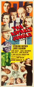 "Movie Posters:Film Noir, The Asphalt Jungle (MGM, 1950). Insert (14"" X 36"").. ..."