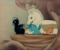 Animation Art:Production Cel, Fantasia Pegasus Family Production Cel Courvoisier Setup(Walt Disney, 1940)....