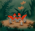 Animation Art:Production Cel, Fantasia Mushroom Dancers Production Cel Courvoisier Setup (Walt Disney, 1940)....