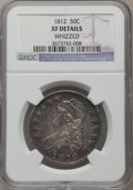 Bust Half Dollars, 1812 50C Large 8 -- Whizzed -- NGC Details. XF. NGC Census:(36/499). PCGS Population (123/651). Mintage: 1,628,059. Numism...