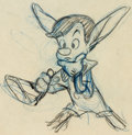Animation Art:Production Drawing, Pinocchio Pinocchio with Donkey Ears Production Drawing(Walt Disney, 1940)....