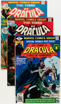 Bronze Age (1970-1979):Horror, Tomb of Dracula Group (Marvel, 1972-79) Condition: Average FN....(Total: 31 Comic Books)