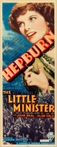 "Movie Posters:Drama, The Little Minister (RKO, 1934). Insert (14"" X 36"").. ..."