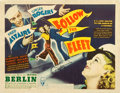 "Movie Posters:Musical, Follow the Fleet (RKO, 1936). Autographed Half Sheet (22"" X 28"")....."