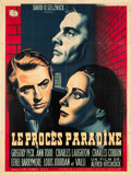 "Movie Posters:Hitchcock, The Paradine Case (Selznick, 1949). French Grande (47"" X 62.5"")Blue Style.. ..."