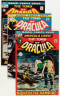 Bronze Age (1970-1979):Horror, Tomb of Dracula Group (Marvel, 1972-79) Condition: Average VG....(Total: 33 Comic Books)