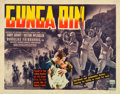 "Movie Posters:Action, Gunga Din (RKO, 1939). Half Sheet (22"" X 28"") Style B.. ..."