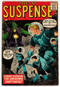 Silver Age (1956-1969):Science Fiction, Tales of Suspense #1 (Marvel, 1959) Condition: Apparent GD/VG....