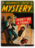 Golden Age (1938-1955):Horror, Journey Into Mystery #3 (Marvel, 1952) Condition: GD....